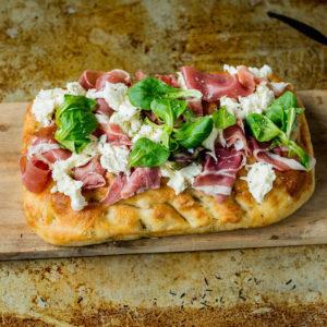 Focaccia med pålegg - Meny Catering