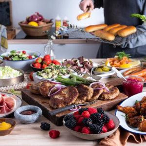 Koldtbord - Meny Catering