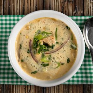 Kyllingsuppe fra Meny Catering