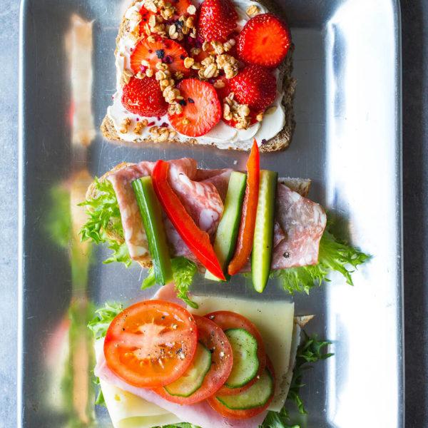 Møtepakke - Baguette med pålegg - Meny Catering