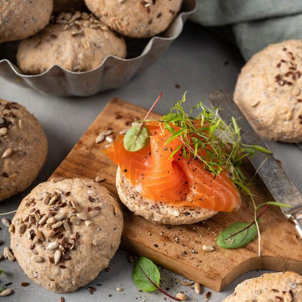Rundstykker - Meny Catering